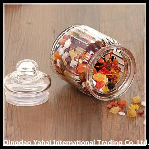 Three-Piece Clear Straight Jar / Glass Bell Jar pictures & photos