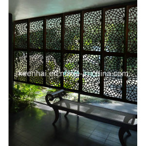 decorative laser cut aluminum perforated outdoor metal screen - Decorative Metal Screen