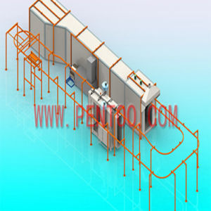 High Quality Environment-Friendly Powder Coating Line for Good Painting pictures & photos