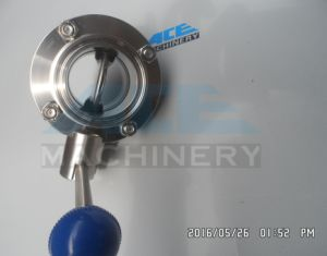 1 Inch Sanitary Butterfly Valve with Pneumatic Actuator (ACE-DF-GN) pictures & photos