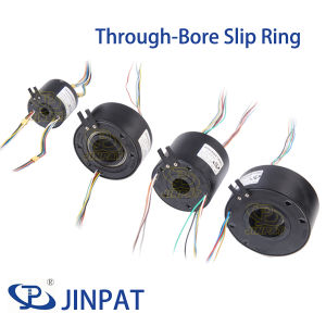 Slip Ring Connector 380VAC, Through Bore Slip Ring for Medical Equipment
