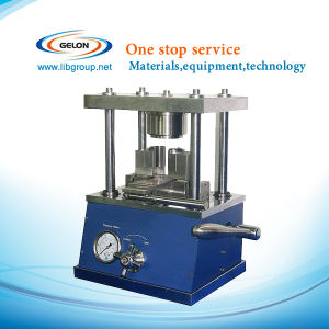 Desk-Top Hydraulic Crimping Machine for Li-ion Cylinder Cell Battery Lab (GN-510) pictures & photos