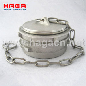 Aluminum Guillemin Coupling Plug with Locking Ring pictures & photos