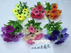 High Quality of Artificial Flowers Rose Bush of Gu-Po-61001 pictures & photos