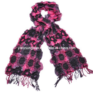 2014 Fashion Two-Toned Bubble Ruffle Scarf Winter Warm (SNSZQ1011-5) pictures & photos