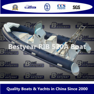 Rigid Inflatable Boat by Rib520A Model pictures & photos