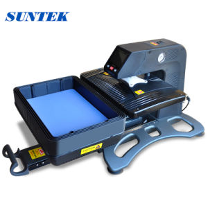 Pneumatic 3D Vacuum Sublimation T-Shirt Heat Transfer Printing Machine (ST-420) pictures & photos