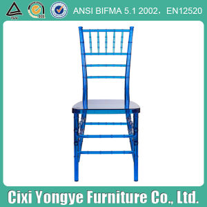 Transparent Red Plastic Chiavari Chair for Rental Party pictures & photos