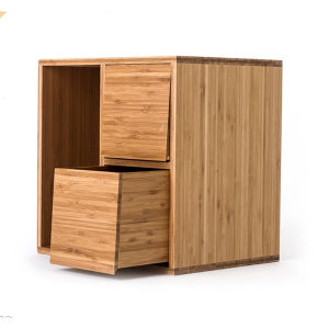 Bamboo Furniture Chest Organizer Storage Cabinet pictures & photos