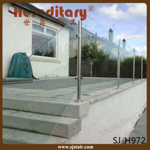 Stainless Steel Handrail Glass Stair Railing Post (SJ-S103) pictures & photos