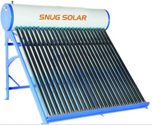 Color Coating Non Pressure Solar Heater with CE pictures & photos