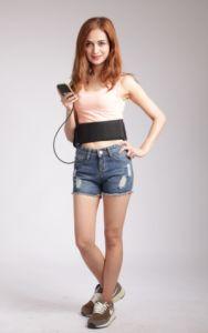 Electric Muscle Stimulation Body Massage Slimming Belt