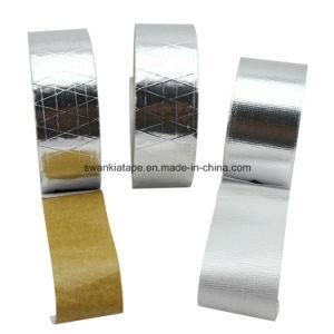 Fiberglass Lines (reinforced) Aluminum Foil Tape pictures & photos