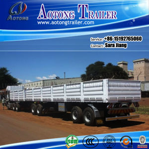 40ft Flatdeck Interlink Container Semi Trailer Chassis (20-53ft Optional) pictures & photos