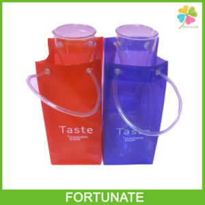 Flexible PVC Freezer Bag with Tote