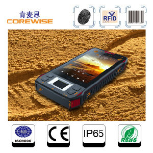 Industrial 4G Smartphone with Fingerprint Sensor/RFID Reader/Laser Barcode Scanner pictures & photos