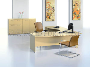 Modern L Shape Office Desk (SZ-OD018) pictures & photos
