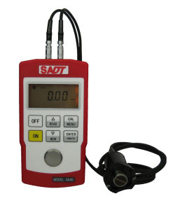 Portable Digital Ultrasonic Thickness Gauge SA40ez pictures & photos