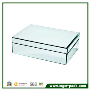 2017 High Quality Medium Glass Jewelry Box pictures & photos
