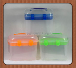 Small Square Colored Household Plastic Hand Tool Storage Box