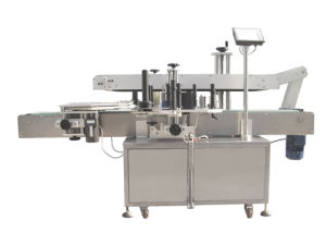 Full Automatic Two Side Label Machine /High Speed Labeling Machine pictures & photos