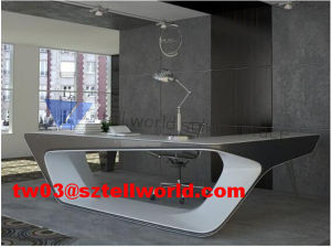 New 2017 Executive Office Table Design/Luxury Modern Executive Office Desk Table for Sale pictures & photos