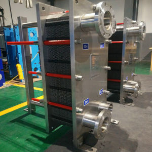 Industrial Cooling System Top Quality Stainless Steel Gasketed Plate Heat Exchanger pictures & photos