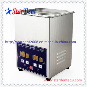 2L Stainless Steel Digital Tabletop Ultrasonic Cleaner of Dental Equipment pictures & photos