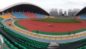Eco-Friendly Health PU Athletic Rubber Running Track