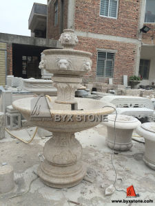 G682 Yellow Granite Water Fountain for Garden Decoration pictures & photos