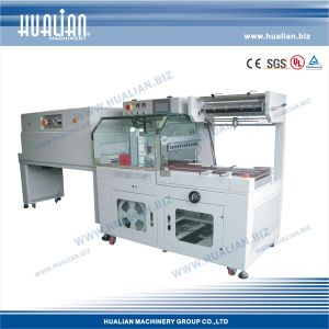 Hualian 2017 L Sealing Machine with Shrink Tunnel (BSF-5545LE+BS-4525) pictures & photos