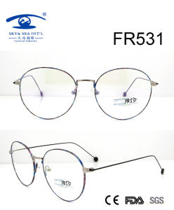 Korea Style Round Slim Metal Optical Frame (FR531) pictures & photos