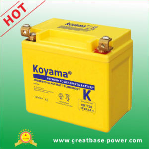 Koyama Motorcycle Battery 6.5ah 12V pictures & photos