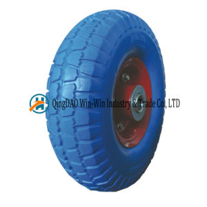 260*85 Solid PU Foam Tire for Carts and Pressure Washer pictures & photos