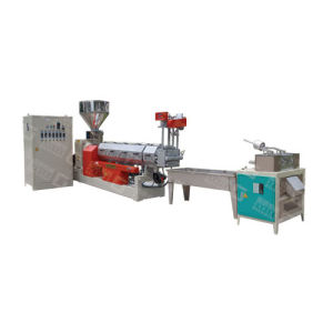 Water Cooling Single Screw Extrution PE Plastic Recycling Machine pictures & photos