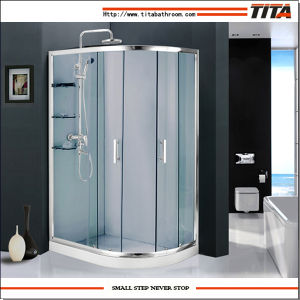 2014 Modern Design Free Standing Glass Shower Enclosure Ts9177 pictures & photos