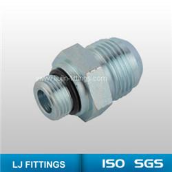 Hydraulic Hose Fittings / Jic 74 Cone Flared Tube Adapters