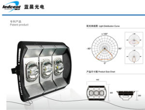 180W LED Tunnel Light with Excellent Heat Dissipation and Waterproof pictures & photos