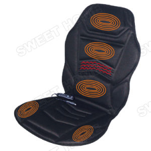 Electric Shiatsu Vibration Heat Car and Home Massage Mattress pictures & photos