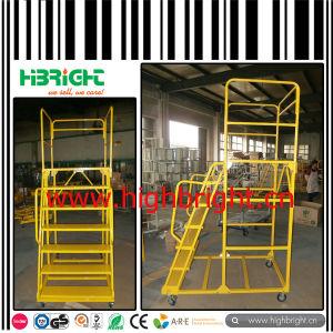 Superamrket Warehouse Ladder Truck Trolley pictures & photos