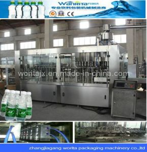 Autoamtic Water Filling Machine and Prodution Line for Plastic Bottle pictures & photos