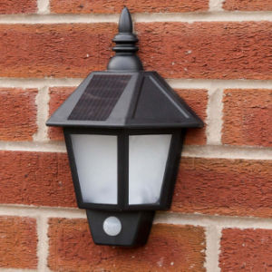 Waterprooof Solar Wall Light with PIR Motion Sensor pictures & photos