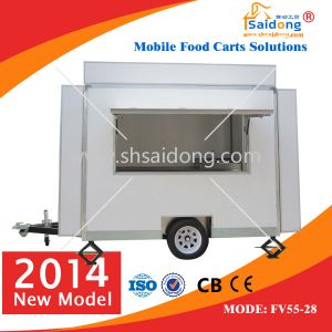 High Quality Mobile Food Kiosk/Food Stall/Coffee Cart