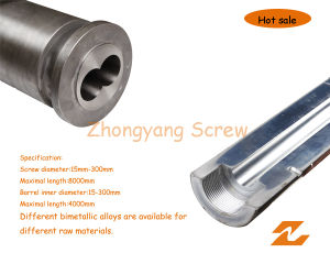 Plastic Machibe Bimetallic Screw and Barrel/Tungsten Carbide (65/132) pictures & photos