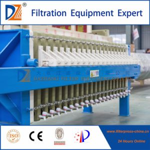 High Efficiency Once Open Filter Press for Sludge Dewatering pictures & photos