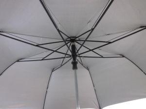 27 Inches Black 2-Folding EVA Handle Auto Open Umbrella (YS2F0009-3) pictures & photos