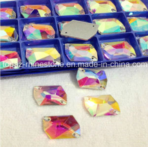 Fashion Crystal Sew on Stones Sew on Rhinestone for Dresses (SW-cosmic 16*21) pictures & photos