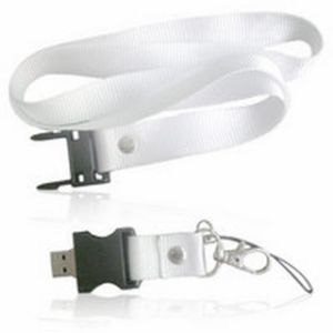 Heat Transfer Printing Lanyard with 2GB USB Flash Drive pictures & photos