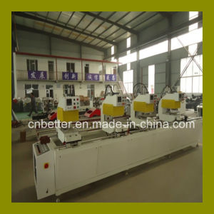 PVC Door Window Production Line / PVC Window Fabrication Machine / PVC Profile Welding Machine