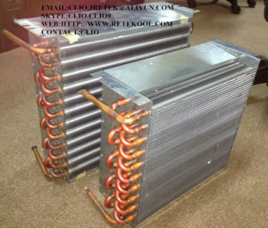 1/5 HP Aluminium Fin Galvanized Plate Copper Evaporator pictures & photos
